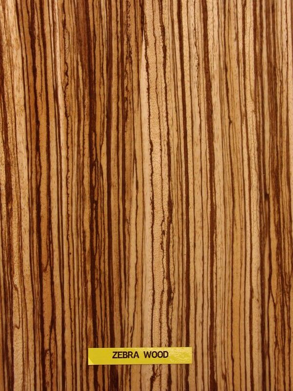 Wood Work Zebrano Wood Veneer PDF Plans