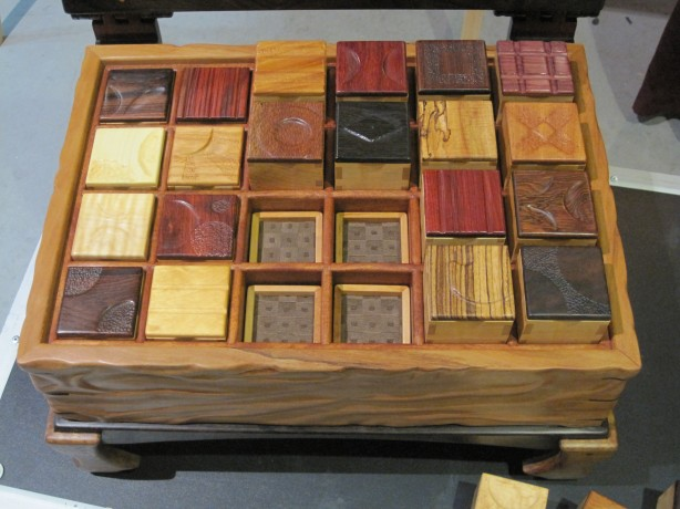 types of exotic wood