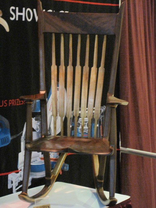 #37 Wood carving: The Wood Working Show, Schaumburg, IL