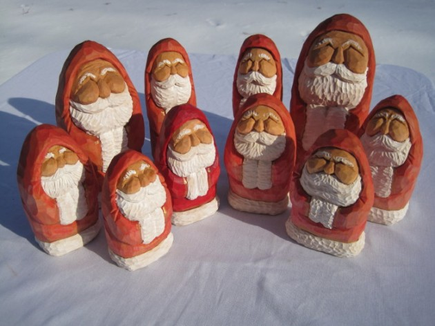 Wood carved santas patterns theeitdph