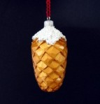 Pine cone 1 completed ornament